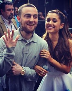 Mac Miller and Ariana Grande I think they'd also would've made a cute couple