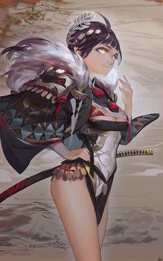 神々 Kamigami, Geoffrey Chan on ArtStation at https://www.artstation.com/artwork/a1J9z?utm_campaign=digest&utm_medium=email&utm_source=email_digest_mailer