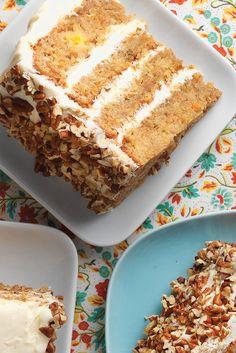 Sourdough Carrot Cak