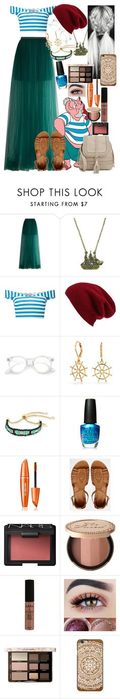 """""""MR. SMEE ⛵️ DISNEYBOUND ⛵️"""" by axelyamary ❤ liked on Polyvore featuring Delpozo, Miss Selfridge, Halogen, Bling Jewelry, Laundry by Shelli Segal, OPI, ASOS, NARS Cosmetics, Too Faced Cosmetics and NYX"""