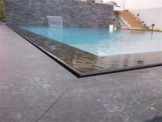 Swiming Pool, Swimming Pools Backyard, Swimming Pool Designs, Garden Pool, Pool Spa, Spa Jacuzzi, Overflow Pool, Natural Swimming Ponds, Infinity Edge Pool