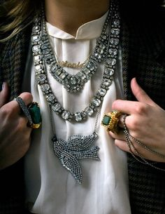 bling  Bling! fashion jewelry bracelets accessories trend neckace / chain bling Ladies / women fashion styles. OMG!!