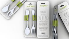 This pint sized version is just like the original design, but perfectly sized to fit the hands of little ones who aren't quite ready for full size utensils. The functional Knork® design eliminates the need for a knife while providing your child independence and safety while eating.
