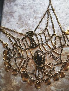 Free People Katie Coin Statement Necklace, $48.00