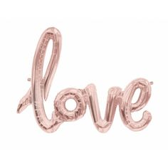 Two of our favourite things have been combined! This rose gold love balloon is the cutest party accessory or decoration and is perfect for pimping the wall at your hen party, birthday party, wedding, engagement party or any celebration of LOVE! We particularly love this balloon as it doesn't require helium. Simply inflate it yourself with the hand straw included for inflation. Easy peasy, rose gold love balloon. #hen #party #love #balloon #rose #gold #classy #modern #decoration #modern #do