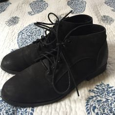 BDG Booties Woman's BDG Urban Outfitters Lace up Booties. Black size 7 lightly worn great shape BDG Shoes Ankle Boots & Booties
