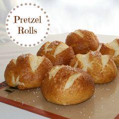 Pretzel Rolls - Recipes, Food and Cooking