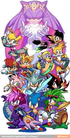 Old and new sonic crew