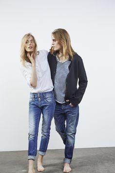 Herrlicher Jeans Look für IHN und SIE