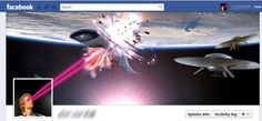 Soup up your Facebook cover. | 27 Pointless Projects To Do When You're Bored At Work