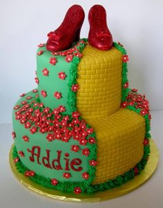 Wizard Of Oz Cake  on Cake Central