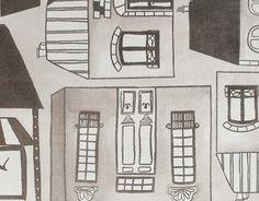 """Check out new work on my @Behance portfolio: """"Honfleur city. Línea de textiles decorativos."""" http://on.be.net/1RX8wdW"""