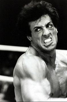 Sylvester Stallone è Rocky