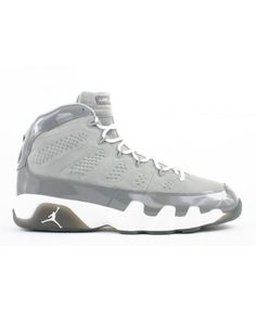 new product 6adf6 0ce7f Air Jordan 9 Retro Cool Grey Medium Grey White Cool Grey 302370 011