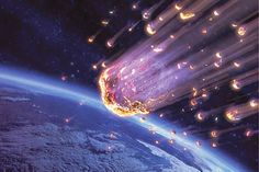 Apakah yang menyebabkan meteor tersebut terbakar? Ya, tak lain adalah lapisan atmosfer diciptakan Alloh sebagai selimut bumi. Saat memasuki atmosfer, meteor bergesekan dengan udara. Gesekan inilah yang menyebabkan panas tinggi hingga membakar meteor. Inilah mekanisme perlindungan bumi dari benda-benda angkasa yang jatuh memasuki bumi.