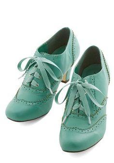 modcloth shoes, retro style, vintage girl, moda, mint, zapatos, chica fashion www.PiensaenChic.com