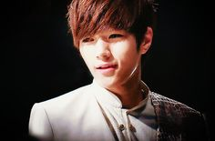 L (Kim Myung Soo)  I loved him in Shut Up Flower Boy Band, his first acting gig.