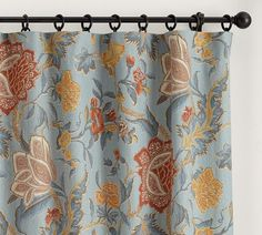 Cynthia Palampore Drape | Pottery Barn - drapery option