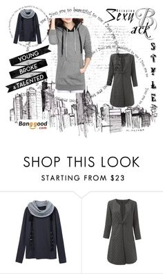 """""""BANGGOOD 8"""" by lejlaaaaa-25 ❤ liked on Polyvore featuring мода"""