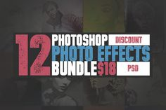 Posted by @newkoko2020 Photoshop Photo Effects Bundle by SeraphimChris on @creativemarket