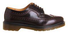 Dr. Martens 3989 Brogue Shoe Cherry Red - Flats