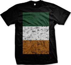 Big Distressed Ireland Flag- Irish Pride St Patricks Day Mens T-shirt - http://bestsellerlist.co.uk/big-distressed-ireland-flag-irish-pride-st-patricks-day-mens-t-shirt/