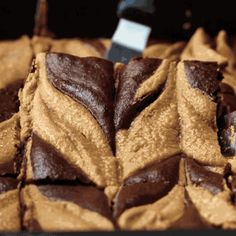 These Chocolatey Peanut Butter Swirl Brownies Are A Healthier Way To Treat Yourself
