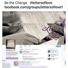 #lettersoflove