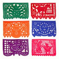 papel picado - you know you are in for a good time if you see this strung along the walls