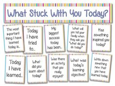 Teacher's Pet – Ideas & Inspiration for Early Years (EYFS), Key Stage 1 (KS1) and Key Stage 2 (KS2) | What stuck with you today?