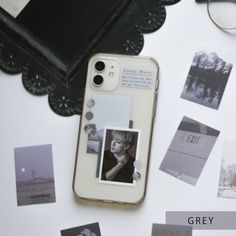 KPop Phone Case Decor Sticker Set  Any K-pop member/ Kdrama Actor/ Actress  Case Not Included  