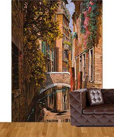 Custom fabric wall murals