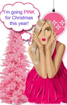 Hi there!!! everyone is going pink this Christmas and I want to be the first. Check out all the great pink ornaments and so different from the norm, Kids are just going to love it. ,http://funchristmasdecorations.com/pink-christmas-decorations/