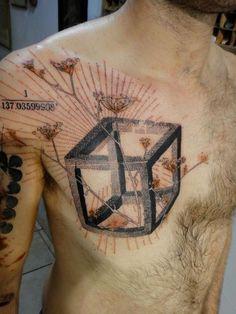 Xoil Needles Side Tattoo