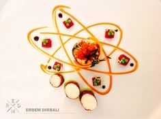 "The winner of the first ""Thanks to all the chefs - album "" is Erdem Dirbali! Thanks for the votes chefs! A new album will come on our page soon! Thanks to Erdem Dirbali , Captain of the Turkisch national Chefs team ( Tüyap Palas - Turkey ); white groupper and mushroom terine with beetroot aspic - moleculer vasabi - salmon caviar - bouillabaisse sauce"
