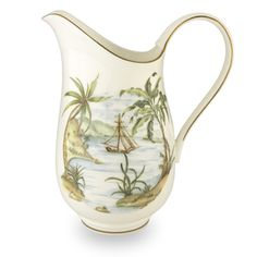 Lenox 'British Colonial' Large Pitcher - Overstock™ Shopping