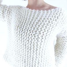 comment tricoter un pull femme facile