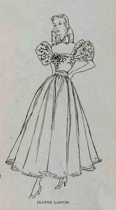 1949 Jeanne Lanvin