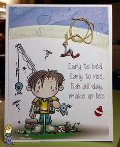 Kidz boy fishing