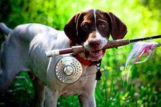 Be my fishing buddy?