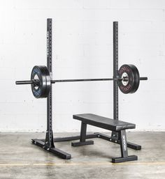"Rogue S-1 Squat Stand 2.0 - Weight Training - 72"" Squat Rack 