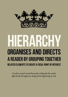 Great hierarchy in design text example Hierarchy Design, Visual Hierarchy, Layout Design, Logo Design, Typographic Poster, Typography, Information Poster, Elements And Principles, Design Theory