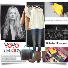 A fashion look from October 2014 featuring Anine Bing jeans and Fergie ankle booties. Browse and shop related looks.