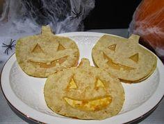 Quesadillas de Halloween