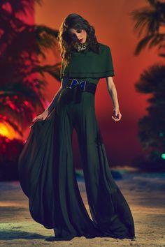green with envy // Balmain SS 2017 #womensfashion #stylish #envogue