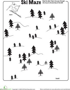 Celebrate the Winter Olympics with this collection of worksheets and activities. From Olympics history and winter sport math to DIY medals and ring cookies you'll find everything you need to get into the spirit of the Games! Maze Worksheet, Worksheets, Ski Weekends, Winter Activities For Kids, How To Make Tea, Educational Games, Winter Olympics, Winter Sports, Olympic Games
