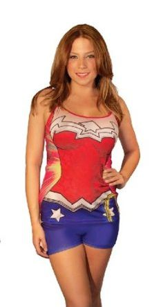 f8e55385bb ... favorite superhero with the new DC Comics Anatomical Pajama Set. This  collection features Wonder Woman