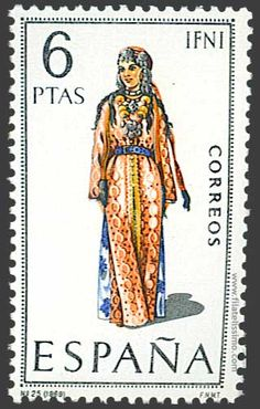 Collection of Spanish stamps:  1969 Ifni