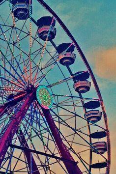 Summer Ferris wheel