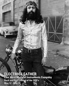 """Postcard from Resurrection Vintage's """"Electric Leather"""" East West Musical Instruments Exhibition, 2001"""